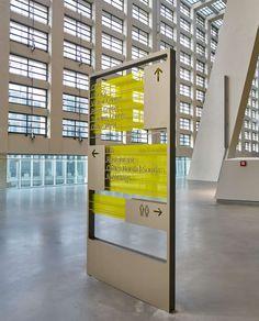欧洲中央银行新办公楼标识设计