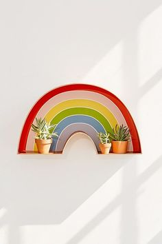 9 Creative And Inexpensive Unique Ideas: Cute Home Decor Items home decor christmas dads.Home Decor Cozy Woods home decor wall ikea hacks.Home Decor Pictures Creative. Rainbow Bedroom, Rainbow Nursery, Urban Outfitters, Copper Shelf, Decorating Your Home, Diy Home Decor, Decoration Plante, Rainbow Decorations, Cool Stuff