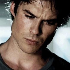 This is what true pain looks like! :'( though still as beautiful as ever.❤ Damon Salvatore | the vampire diaries