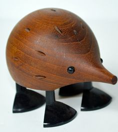 Laurids Lonborg Hedgehog Toothpick Holder on Etsy, $120.00 $120!!? Seriously Finn?