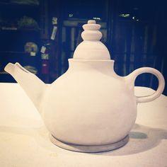 Bisque Teapot