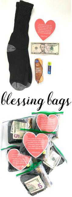 February Mini Blessing Bags