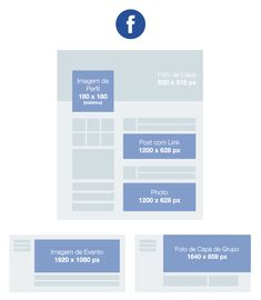 In order for your business to look its best at all times, we've compiled a list of all the social media image sizes to ensure your images look spectacular on any platform. Inbound Marketing, Marketing Tools, Marketing Digital, Content Marketing, Internet Marketing, Online Marketing, Social Media Marketing, Social Media Sizes, Social Media Images