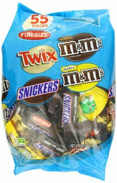 MM's MARS Chocolate Fun Size Variety Pack Candy, 55 Pieces, 34.5 Ounce Package - http://bestchocolateshop.com/mms-mars-chocolate-fun-size-variety-pack-candy-55-pieces-34-5-ounce-package/