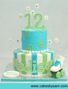 Teen Skating Cake....beautiful!!!
