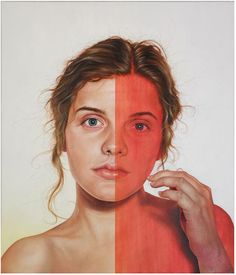 Large figurative oil paintings by Jenny Morgan // #art #painting #portrait