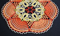 "eolgerin: Bobbin Lace Doily ""Dancing Girls"""