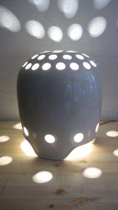 porcelain lamp EPIAG unique free shipping van eddydesign op Etsy,