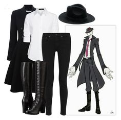 """""""Offenderman"""" by blackfashion123 ❤ liked on Polyvore featuring Givenchy, Steffen Schraut, rag & bone, Frye and Rebecca Minkoff"""