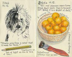 Moleskine journal by dada's place, via Flickr