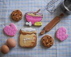 One of my favorite set of cookies! brenda's cakes flickr