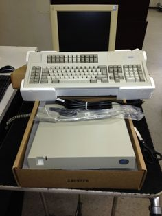 IBM Infowindow ll AS400 with Monitor Keyboard