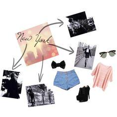 """New York"" by paukbarrancos on Polyvore"