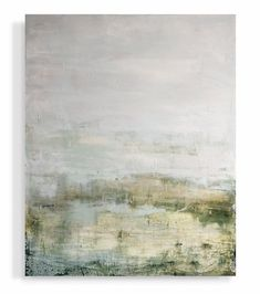 """""""Low Country Green"""" by Lynn Sanders Interior Design New Orleans, Abstract Landscape, Abstract Art, Ship Paintings, Green Palette, Country Paintings, Traditional Landscape, Contemporary Artwork, Low Country"""