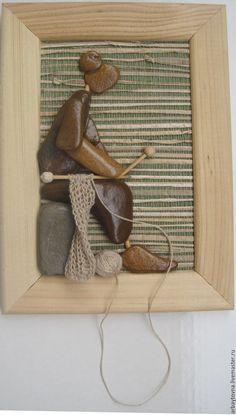 Купить ХОББИ МОЁ - бежевый, вязание спицами, подарок на любой случай, подарок, мама