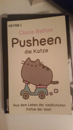 #pusheen I love this cat sooooo much!!! *-* thats why i bought the book! ♥