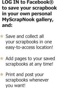 MyScrapNook Home - Design classic and new generation scrapbooks to post and print