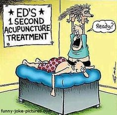 We're proud to announce that no porcupines are harmed during our #acupuncture sessions! #Funny
