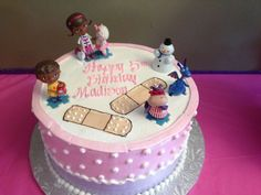 Alkesha R's Birthday / Doc McStuffins - Photo Gallery at Catch My Party 3rd Birthday Parties, Birthday Bash, Birthday Ideas, Cupcakes, Cupcake Cakes, Doc Mcstuffins Birthday Cake, Pinapple Cake, Bolo Cake, Muffins
