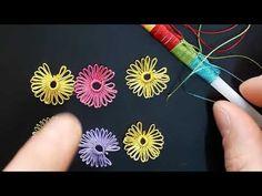 # PİPET OYASI YENİ EN İNCE detay, püf noktalarıyla ders videosu bir çok oyada yapa bil çeğiniz bilgi - YouTube Hand Embroidery Videos, Hand Embroidery Flowers, Silk Ribbon Embroidery, Crewel Embroidery, Hand Embroidery Patterns, Beaded Flowers Patterns, Crochet Flower Patterns, Beaded Jewelry Patterns, Baby Knitting Patterns