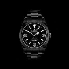 Rolex Black Out Explorer