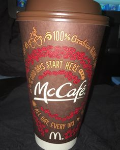 With my best co-worker anyone can ask for while working on orders. #wakingup #fullfillingorders #cynthiascraftsinvirginia #morningcoffee #mccafe