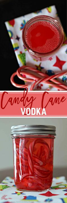 Get in the holiday spirit by making this easy Candy Cane Vodka and using it in various cocktails throughout the holiday season! via @speckledpalate