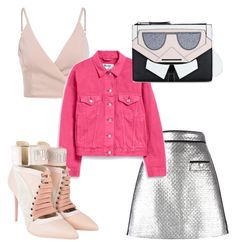 """""""Untitled #12"""" by jasminsangalyan on Polyvore featuring MSGM, Acne Studios, Puma and Karl Lagerfeld"""