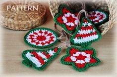 lots of free christmas ornament crochet patterns