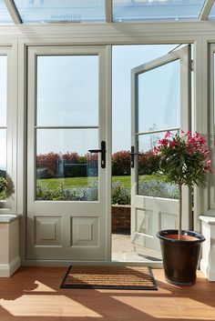 House Front Windows French Doors Ideas For 2019 Wooden Front Doors, French Doors Exterior, Windows And Doors, House, Front Door, French Windows, House Front, External Doors, External French Doors