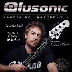 Domani pomeriggio venite a provare le nuove casse e bassi Hybrid by Alusonic con Alberto Rigoni! #Alusonic #bassline