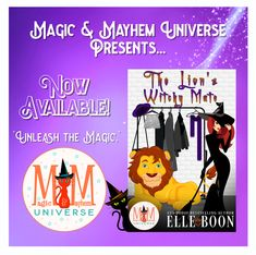 Thadd's so much more than meets the eye... Torrance isn't your average shifter... Can these two shifters get their happily ever after? Buy The Lion's Witchy Mate by Elle Boon TODAY to find out! #MagicMayhemUniverse #NewRelease #ebook