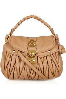 Miu Miu coffer hobo