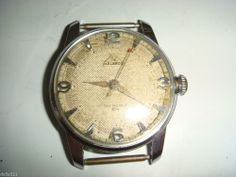 HELBROS Swiss Invincible working man's wind up watch Vintage Estate Jewelry