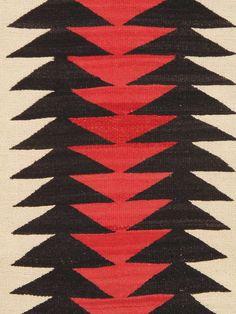Vintage Navajo Kilims 3x5 image 2