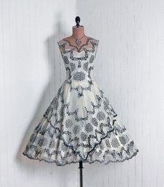 Dress 1950s Timeless Vixen Vintage - OMG that dress!
