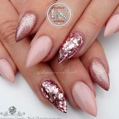 21 Fab and Stylish Nude Stiletto Nails to Be in Trends ❤ Simple Nude Stiletto Nails Ideas picture 2 ❤ Nude stiletto nails never go out. Check out our freshest collection of nail art with nude nail polish shades to get inspired.https://naildesignsjournal.com/nude-stiletto-nails-trends/ #naildesignsjournal #nails