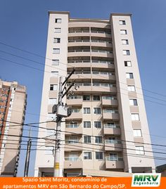 Paisagismo do Saint Moritz. Condomínio fechado de apartamentos localizado em São Bernardo do Campo / SP.