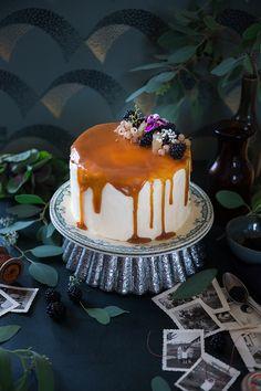 Layer cake poire caramel ©Fraise & Basilic