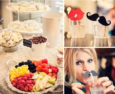 tehehe...I LOVE the idea of the moustache straws - maybe for the Jack & Jill shower?