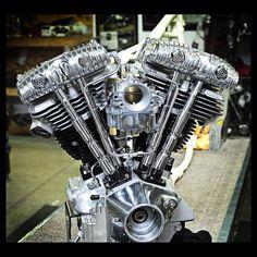 Customized HD Shovelhead Cone Motor