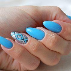 So pretty sky blue  A101  @blueskypolska   #nailart #nailsoftheday #nails2inspire #bluenails #nailswag #instanail #hybrydnails #hybrydymanicure #beautifulnails #awesome #paznokciehybrydowe #pazurki #paznokietki #blueskypolska #geometricnails #piekne #polskadziewczyna #nailprodigy #naildesigns4all @paznokciove_inspiracje @akademia_paznokcia @nails_champions @clawgasmic @10_perfectnails @yagala