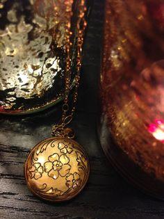Vintage 12 Karat Gold Locket Necklace