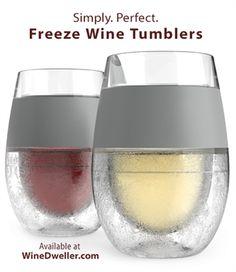 BICCHIERE FREDDO PER BERE SEMPRE IL VINO FRESCO, PER TUTTA LA DURATA DEL PRANZO... Freeze Cooling Wine Glasses Product ID: WD2041 Our Price: $26.99 Sale Price: $23.99 Savings: $3.00