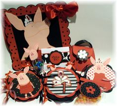 Ultimate Glamorous and Fabulous Olivia the Pig Birthday Party Pack only in my ARTFIRE account
