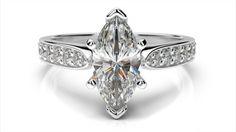 Zásnubný prsteň s diamantom z ružového zlata Marquise, Gemstone Rings, Engagement Rings, Gemstones, Jewelry, Jewellery Making, Gems, Enagement Rings
