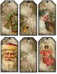 "Lovely heart things: ""New Year's cards, or another original idea for the Advent Calendar"""