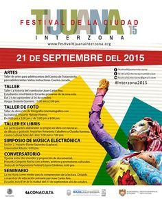 Te invitamos a conocer el programa de HOY LUNES del Festival Tijuana Interzona. Consulta el programa completo aquí:  http://tjev.mx/1NPAiZS  #comparte