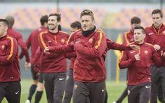 La Roma termina la rifinitura in vista del derby: Ljajic e Holebas in gruppo! #roma #rifinitura #lazio #derby