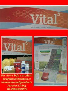 Nutri il tuo corpo col nostro programma VITAL 5 Braga luca incaricato indipendente Forever Living Products Italy